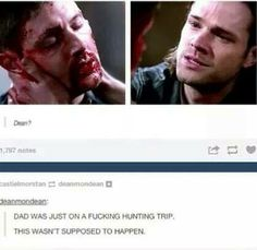 SUPERNATURAL QUOTES FACEBOOK PAGE MY NAME IS DEAN WINCHESTER IM AN AQUARIUS SPN QUOTES FACEBOOK PAGES