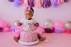 Beautiful little Afika came for her session on her actual birthday! She looked like such a little princess in her tutu, and this one knew how to throw out some fierce poses! Unfortunately, Afika wa… Cake Smash, Little Princess, Photographs, Birthday, Fun, Beautiful, Baby, Birthdays, Cake Smash Cakes