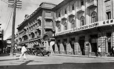 The historic Trocadero Hotel along Surawong Road, as seen in 1929   via : Siam, Thailand & Bangkok Old Photo Thread - Page 189 - TeakDoor.com - The Thailand Forum