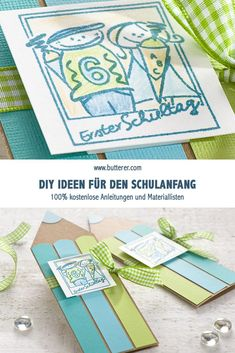 DIY invitation or greeting card First day of school! - Your child is going to school! A big step for the whole family. Be creative beforehand and make thi - Formal Wedding Invitations, Diy Invitations, Invitation Cards, Decoration Chic, Candy Costumes, Diy Wedding Bouquet, Colourful Balloons, Kids Sleep, Bridal Shower Decorations