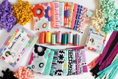 Favorite Things Aurifil Thread Collection - Geometric Bliss by Jeni Baker, via Flickr