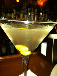 Dirty Martini, just not so dirty! Let's call it a naughty