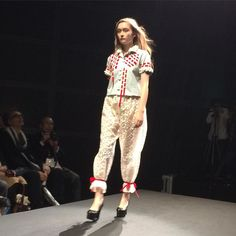 akikoaokiのコレクション #ACROSS #PARCO  #2016SS #jfw #Japan #Tokyo #東京国際フォーラム #fashion #moda #mode #時尚 #ファッション #fashionshow #catwalk #runway #soshiotsuki #akikoaoki #keisukeyoshida #tokyonewage #東京ニューエイジ  #ピッグスキン #pigskin #mikiosakabe #jennyfax #レザー by web_across