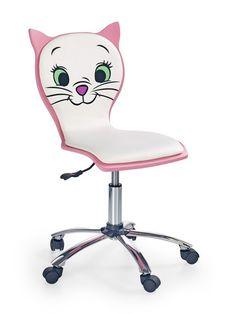 Scaun de birou Kitty 2 #kitty #kids #backtoschool #kids #kidsroom #officechair Kidsroom, Back To School, Cool Things To Buy, Cute Animals, Kitty, Chair, Furniture, Design, Home Decor