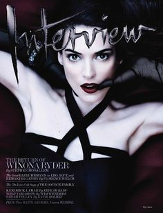 Winona Ryder covers Interview