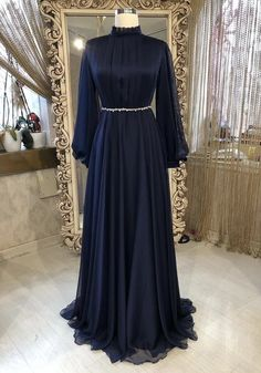 Trendy Dresses, Modest Dresses, Simple Dresses, Beautiful Dresses, Prom Dresses, Hijab Evening Dress, Hijab Dress Party, Evening Dresses, Modest Fashion Hijab