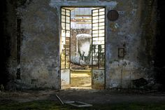 Behind the door  (Old abandoned papermill)