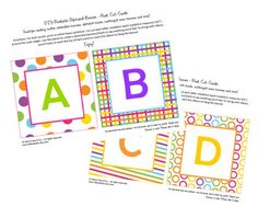 free alphabet pdf's to use for banners