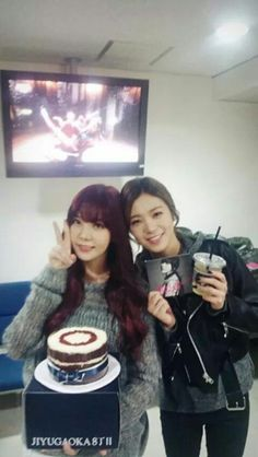 Orange Caramel Raina and Lizzy