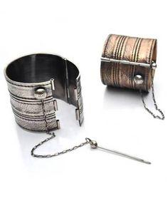 Bondage cuffs.. so cool. | Refinery29