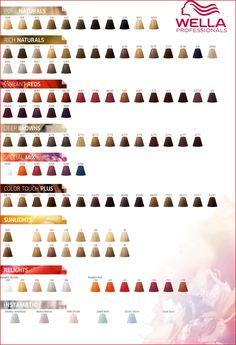 927ebad4e5 Wella Demi Permanent Hair Color Instructions 77 Wella Professionals Color  touch Color Chart 2017 Check more