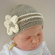 Baby Hat Knitting Pattern pdf  EMILIE by LoveFibres on Etsy, $4.00