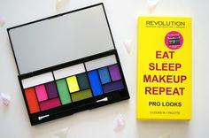 http://thoushaltnotcovet.net: NEW Makeup Revolution Eat Sleep Makeup Repeat Palette