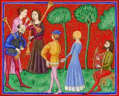 medieval troubadours - Google Search