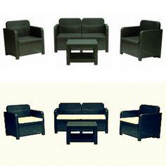 divano 4 posti in rattan lombock naturale | terrazzo | pinterest - Divano Per Veranda