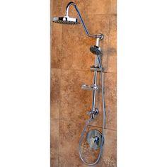 Inspirational Jacuzzi Primo 3 Way Chrome Shower Bar System