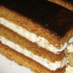 Zombori mézes Hungarian Desserts, Hungarian Recipes, Cake Recipes, Dessert Recipes, Tiramisu Cake, No Cook Meals, Sweet Tooth, Bakery, Food And Drink