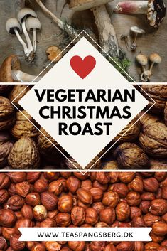 This nut and mushroom roast is perfect as the main dish or as a side for those Christmas sundays. Easy to prepare and so delicious. Vegetarian Lunch, Vegetarian Recipes, Christmas Roast, Merry Christmas Love, Good Roasts, How To Dry Rosemary, Stuffed Mushrooms, Stuffed Peppers, Christmas Traditions