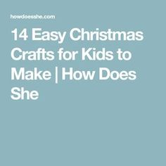 14 Easy Christmas Crafts for Kids to Make Colorful Christmas Tree, Simple Christmas, Christmas Crafts For Kids To Make, Paper Candy, Cool Things To Make, How To Make, Cute Snowman, Paper Straws, Cute Crafts