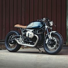 Love the idea of the BMW R nineT, but not the styling? The new bodywork on this build from Clutch Custom fits like a fine French suit.