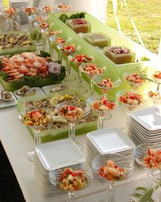 Best Ideas For Seafood Buffet Ideas Food Stations Catering Display, Catering Food, Catering Buffet, Seafood Buffet, Buffet Set, Styling A Buffet, Food Stations, Food Displays, Appetizers For Party