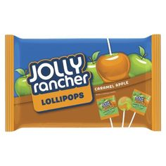 Jolly Rancher Caramel Apple Lollipops i've had three today. They are so good.