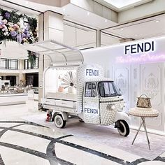 WEBSTA @ fendi - Fendi celebrates Spring with The Sweet Dream pop-up at Shinsegae Gangnam in Seoul. The pretty pastry-like sculptures are created in collaboration with artist #AnkeEilergerhard. #FendiSS17