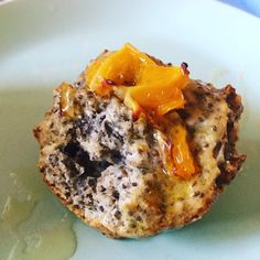 Pensé en unos quequitos o muffins para el desayuno, livianos y sin grasa y el resultado quedaron espectaculares.