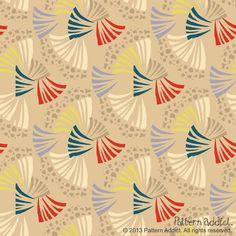 """""""Eugene"""" pattern by textile designer Gill Eggleston"""