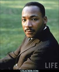 Martin Luther King--American icon, hero and ultimate change agent!
