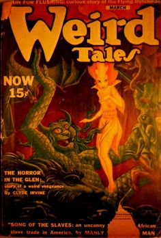 Weird Tales, March YYYY