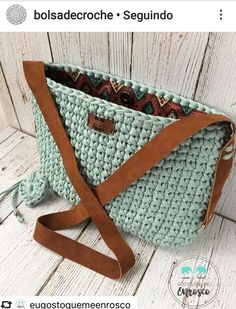 Best 12 Welcome to our gallery of beautiful crocheted handbags for summer. These handbag models are popular designs made by ingenious housewives. On this page you will find the popular crochet bag models of June If you want to have all the eyes on th Free Crochet Bag, Mode Crochet, Crochet Tote, Crochet Handbags, Crochet Purses, Bead Crochet, Crotchet Bags, Knitted Bags, Crochet Shoulder Bags