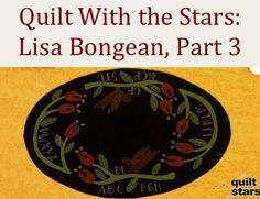 How to Do Wool Applique Instructions with Lisa Bongean