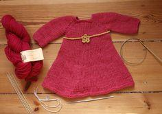 Doll Dress Loreley by Maria Ribbeck