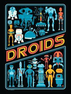"""""""Droids"""" by Dave Perillo"""