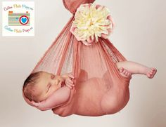 Canyon Orange Cheesecloth Newborn Baby Wrap Photography Props (SwaDDLinG and HAnGinG VideOs) Baby Boy, Baby Girl, Baby Photo Props - 6 Ft