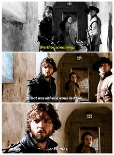 The Musketeers - 2x06 - Through a Glass Darkly, this was the most funny thing ever. I laughed my ass off