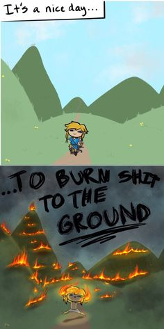 Breath of the wild in a nutshell