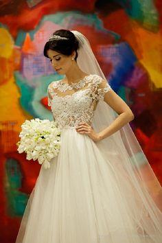 Tule, o tecido do momento para casamentos
