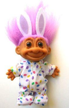 My Lucky Easter Bunny 6' Troll Doll. #Lucky #Easter #Bunny #Troll #Doll