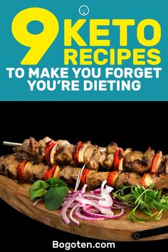 The ketogenic diet provides you with a wide range of recipes that you can eat. Here are 9 keto recipes that are going to make you forget you're dieting.