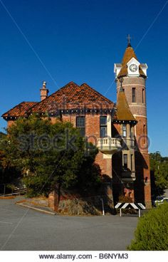 The Old Post Office in Albany Western Australia - Stock Photo