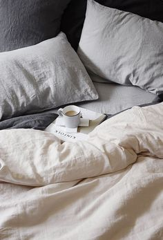 Definitely looking for a white linen duvet cover when we've recovered from Christmas. Apparently, absolutely fantastic in the summer.