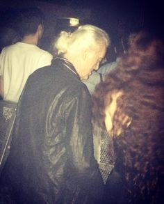 Jimmy Page and girlfriend Scarlett Sabet