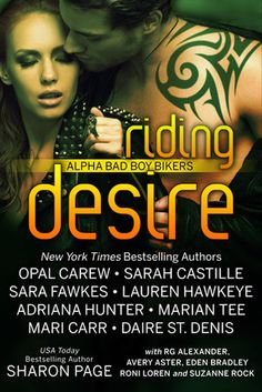 Riding Desire: Alpha Bad Boy Bikers Boxed Set