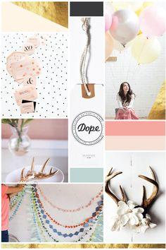 Brand Design | Pink Antlers Studio — Hello Big Idea #branding #moodboard