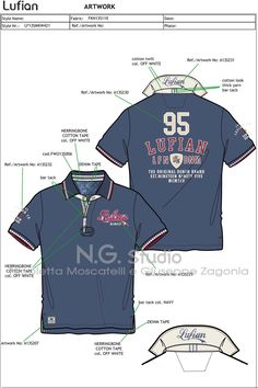 Giuseppe Zagonia, Owner of the Fashion Design Studio N. Zagonia snc in Cassano Magnago, Italy Polo Shirt Design, Polo Design, Camisa Polo, Cheer Shirts, Polo T Shirts, Matching Couple Shirts, T Shirt Yarn, Overall, Casual