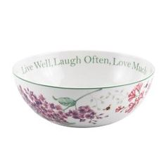 Butterfly Meadow® Sentiment Bowl