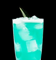 Try the Captain's Electric Shark using Captain Morgan Original Spiced Rum, blue curacao, pineapple juice, and ginger beer. Check out more Captain Morgan rum drink recipes.