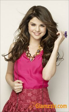 SELENA GOMEZ in pink - Selena Gomez Photo in Pink Dress -14 ...